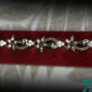 antique gold platted star shapped Bracelet