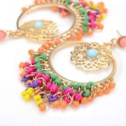 Earrings - Colorful Austrian Bohemian Big Gentryhive